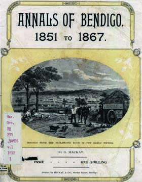 the history of bendigo by george mackay pdf