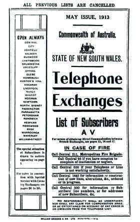 Telephone directory australia number