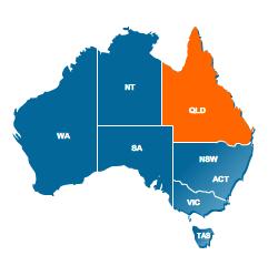 Queensland Electoral Rolls Findmypastcomau - Qld australia map